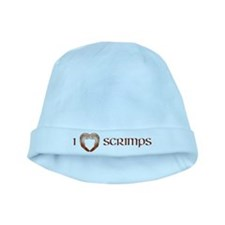 I Love Scrimps baby hat