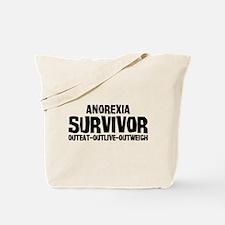 Anorexia Survivor Tote Bag