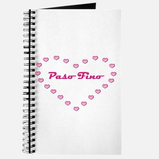 Paso Fino Valentine Journal