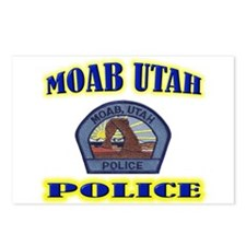 Moab Police Postcards (Package of 8)
