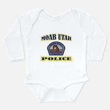 Moab Police Long Sleeve Infant Bodysuit