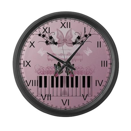 Gospel Butterfly Large Wall Clock