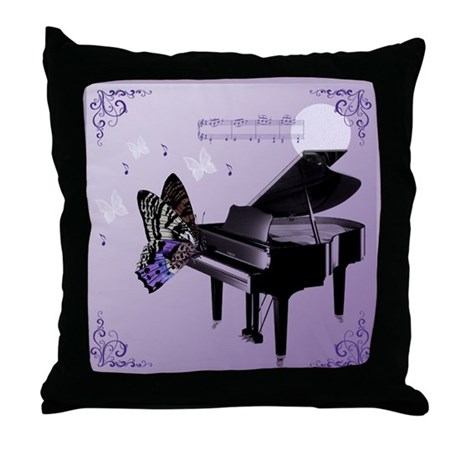 Overture Butterfly Throw Pillow