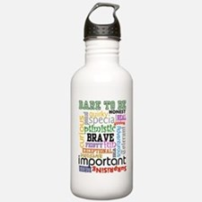 """""""Dare to Be"""" - Sports Water Bottle"""