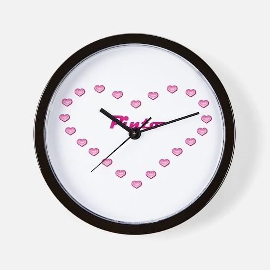 Pinto Valentine Wall Clock
