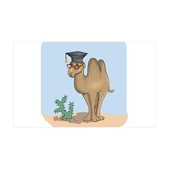 Smart Graduate Camel 38.5 x 24.5 Wall Peel