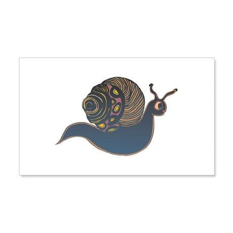 Cool Abstract Snail Design 22x14 Wall Peel