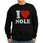 I Love Nole! Sweatshirt (dark)