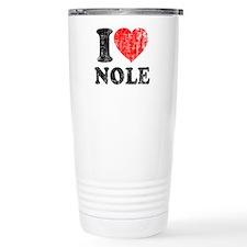 I Love Nole! Travel Mug