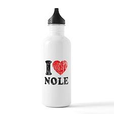 I Love Nole! Water Bottle