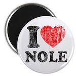 I Love Nole! Magnet