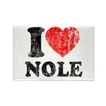 I Love Nole! Rectangle Magnet