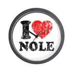 I Love Nole! Wall Clock