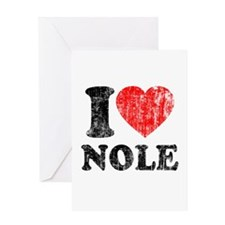 I Love Nole! Greeting Card