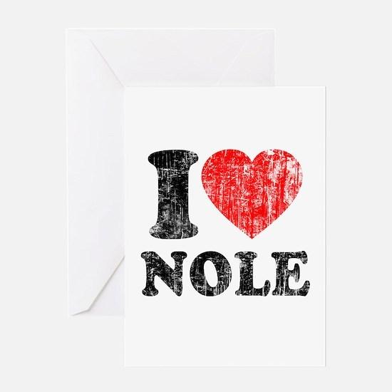 I Love Nole! Greeting Card