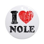 I Love Nole! Ornament (Round)
