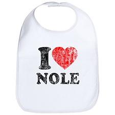 I Love Nole! Bib