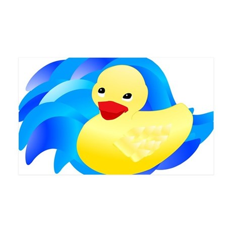 Rubber Ducky 38.5 x 24.5 Wall Peel