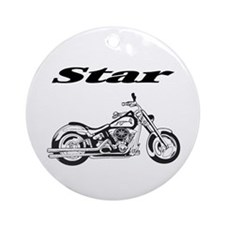 Star Motorcycles Ornament (Round)