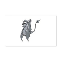 Vampire Bat 22x14 Wall Peel