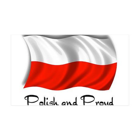 Polish and Proud 38.5 x 24.5 Wall Peel