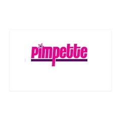 Pimpette 38.5 x 24.5 Wall Peel