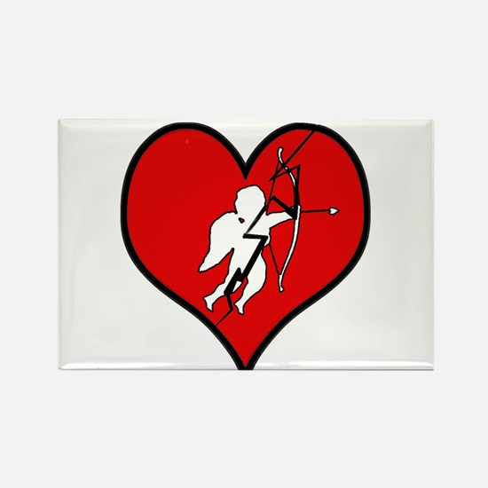 Funny Bleeding hearts Rectangle Magnet