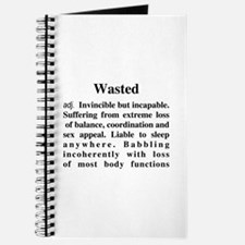 The Definition Of Wasted Journal
