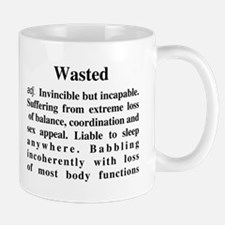 The Definition Of Wasted Mug