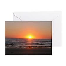 Corpus Christi Beach Greeting Cards (Pk of 10)