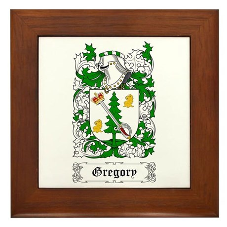 Gregory Framed Tile