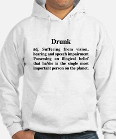 The Definition Of Drunk Hoodie