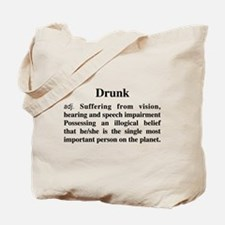 The Definition Of Drunk Tote Bag