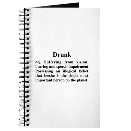 The Definition Of Drunk Journal