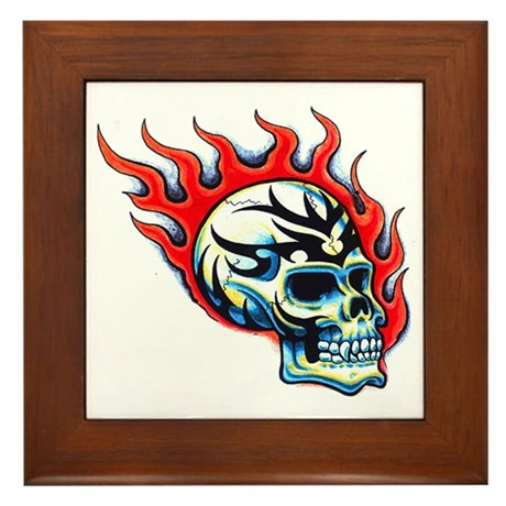 Tattoo framed tile by tattooartshirts for Gifts for tattoo artist