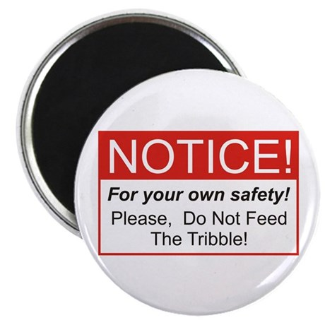 Feed / Tribble Magnet