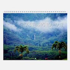 Manoa Valley Honolulu Hawaii Wall Calendar