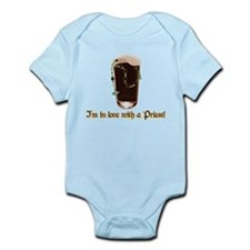 I'm in love with a Priest Infant Bodysuit
