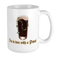 I'm in love with a Priest Mug