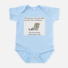 Defeated Germ Infant Bodysuit