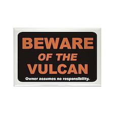 Beware / Vulcan Rectangle Magnet