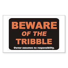 Beware / Tribble Decal