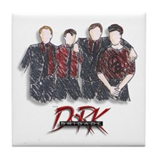 DB Sketch Tile Coaster