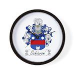 Schiavoni Coat of Arms Wall Clock