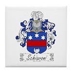 Schiavoni Coat of Arms Tile Coaster