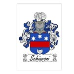 Schiavoni Coat of Arms Postcards (Package of 8)