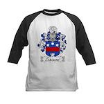 Schiavoni Coat of Arms Kids Baseball Jersey