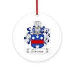 Schiavoni Coat of Arms Ornament (Round)