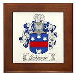 Schiavoni Coat of Arms Framed Tile
