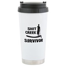 Shit Creek Survivor Travel Mug